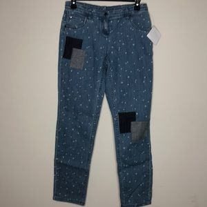 Hanna Anderson star jeans juniors 160/28